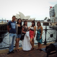 The hostel fam in Sydney, Australia